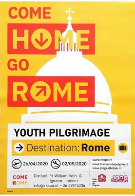 Youth Pilgrimage to Rome in 2020